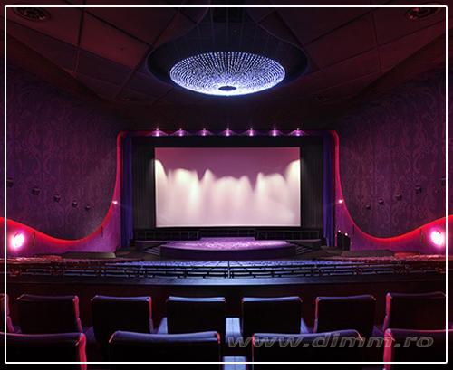 iluminat special pentru teatre, cinematografe