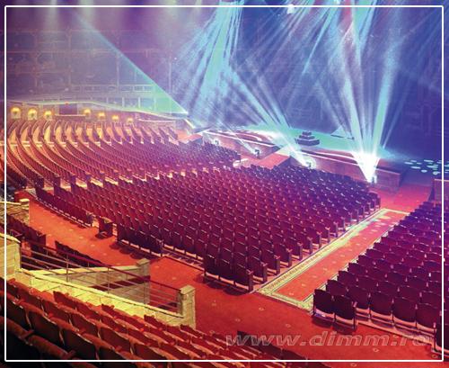 iluminat special pentru scene, teatre